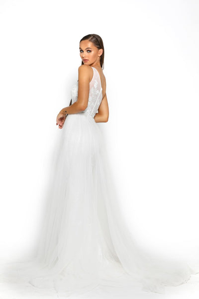 MAYA GOWN PS2016 WHITE