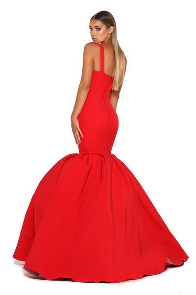 CLEOPATRA GOWN RED