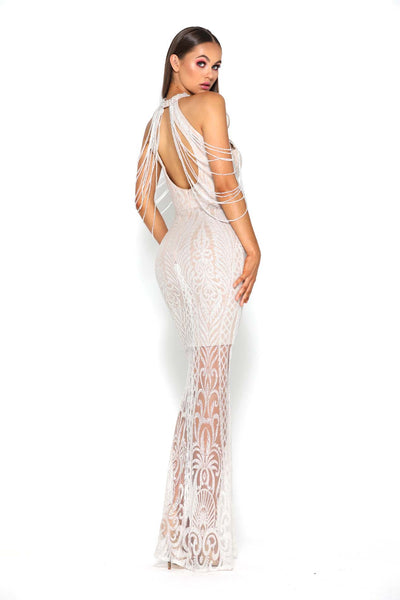 LILY GOWN IVORY NUDE