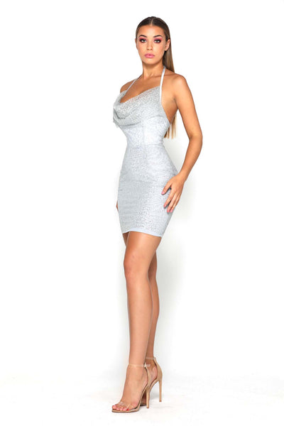 RITA DRESS PLATINUM