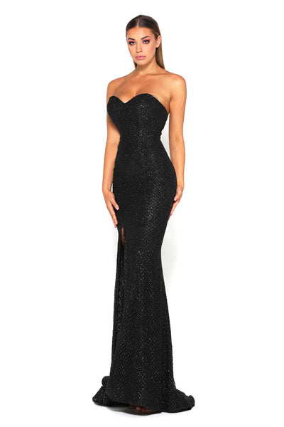 TYRA GOWN BLACK