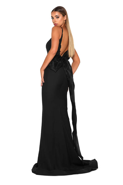 ELLIE GOWN BLACK