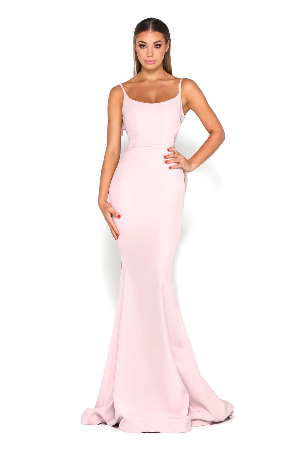 ELLIE GOWN MAUVE