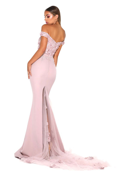 ADRIANA GOWN BLUSH