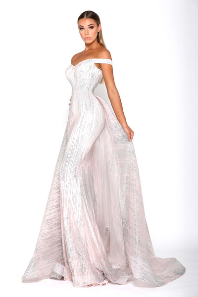 ALICE GOWN PINK SILVER