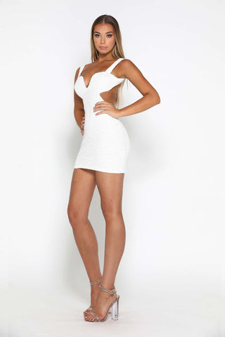 DANNY DRESS WHITE