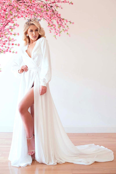 SANDY ROBE WHITE
