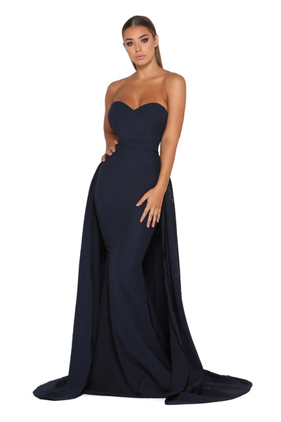 ENDORA STRAPLESS NAVY