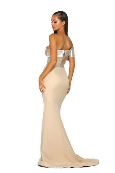 PS5022 GOWN CHAMPAGNE