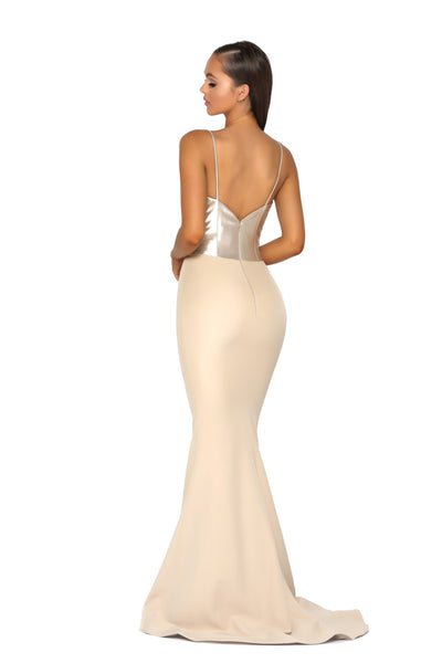 PS5023 GOWN CHAMPAGNE