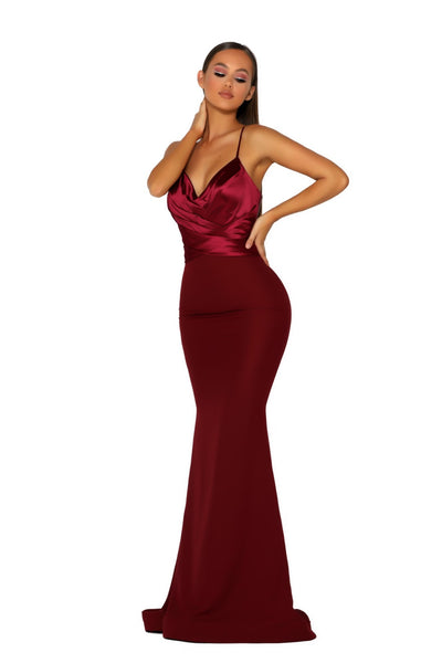 PS5023 GOWN RED