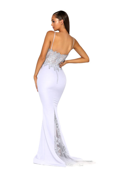 PS5025 GOWN SILVER