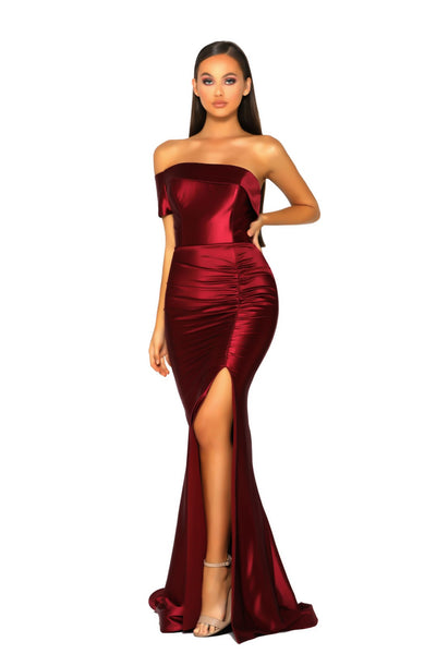 PS5042 GOWN RED