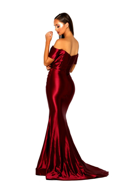 PS5045 GOWN RED