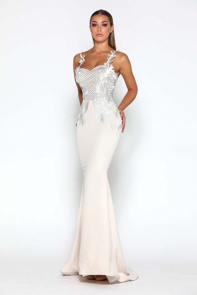 LILA GOWN IVORY