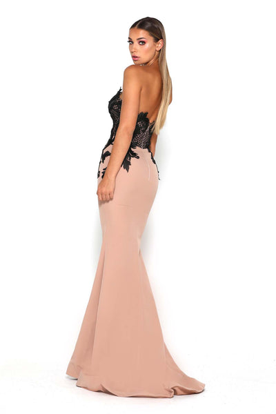 LILA GOWN NUDE