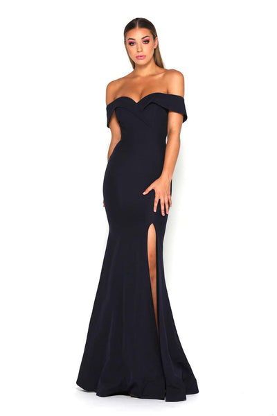 REBECCA GOWN NAVY