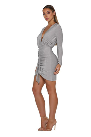 SENIA DRESS PATINUM