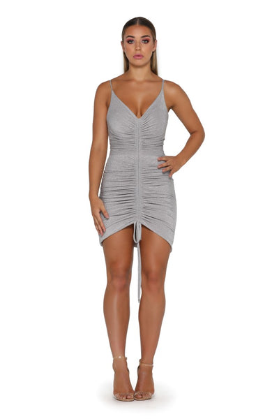 CHERYL DRESS PLATINUM