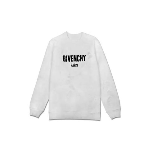 Givenchy Distress crew neck