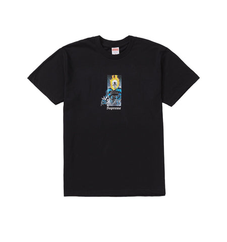 Supreme Ghost Rider Tee Black