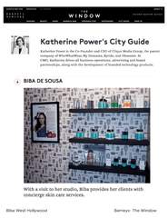 Barneys - Katherine Power's City Guide
