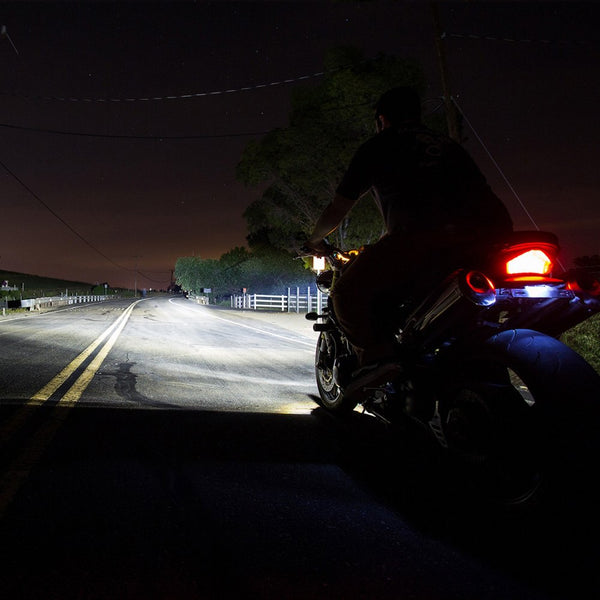 Brightest motorcycle LED headlight