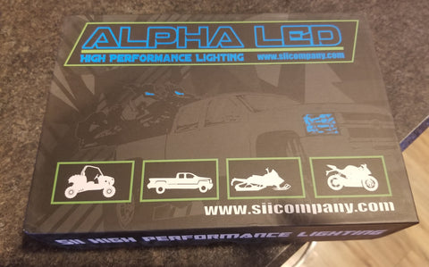 Alpha 130W Max Output LED Automotive Bulbs