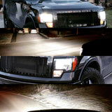 Ford F150 led headlight kit