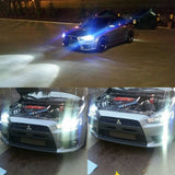 Led headlight , evo, 6000k led, projector headlight,