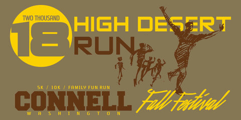 2018 High Desert Run 5k / 10k Design