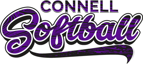 Connell Softball 2019 Logo
