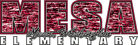 Mesa Elementary Digital Heather Logo