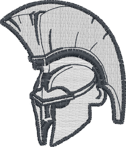 Embroidered Spartan Logo