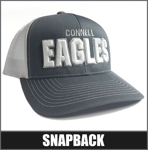 Contrast Stitch Snapback Cap | Connell Eagles