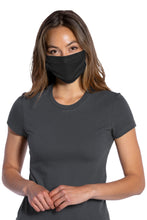 Load image into Gallery viewer, Black 3-Ply - (5-pack) Cotton Face Masks