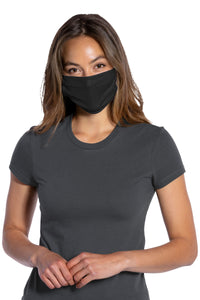 Black 3-Ply - (5-pack) Cotton Face Masks