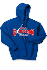 Hooded Sweatshirt - USA Explosion Fastpitch