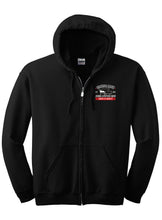 Load image into Gallery viewer, Full Zip Hooded Sweatshirt - CBJLS