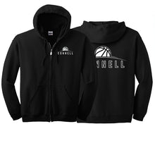 "Load image into Gallery viewer, ""Rise"" Full Zip Hoodie - Connell Basketball"