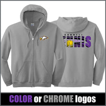 "Load image into Gallery viewer, ""Shadow"" Zip Hoodie - CHS Tennis"