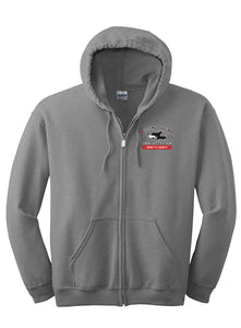 Full Zip Hooded Sweatshirt - CBJLS