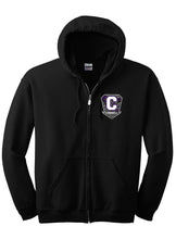 "Load image into Gallery viewer, Full Zip Hoodie - ""C"" CONNELL"