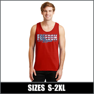 """Flag"" Tank Top - Freedom Rodeo"