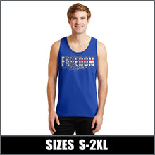 "Load image into Gallery viewer, ""Flag"" Tank Top - Freedom Rodeo"