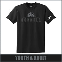 "Load image into Gallery viewer, ""Rise"" Stealth T-Shirt - Connell Basketball"