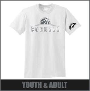"""Rise"" Stealth T-Shirt - Connell Basketball"