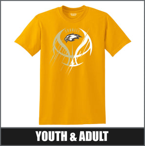 """Meteor"" T-Shirt - CHS Girls Basketball"