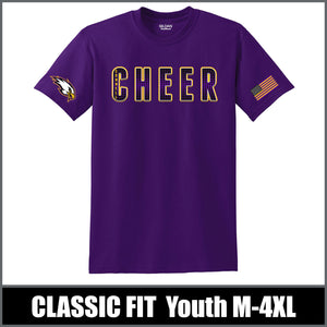 """Bold"" T-Shirt - Connell Cheer"