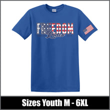 "Load image into Gallery viewer, ""Flag"" T-Shirt - Freedom Rodeo"